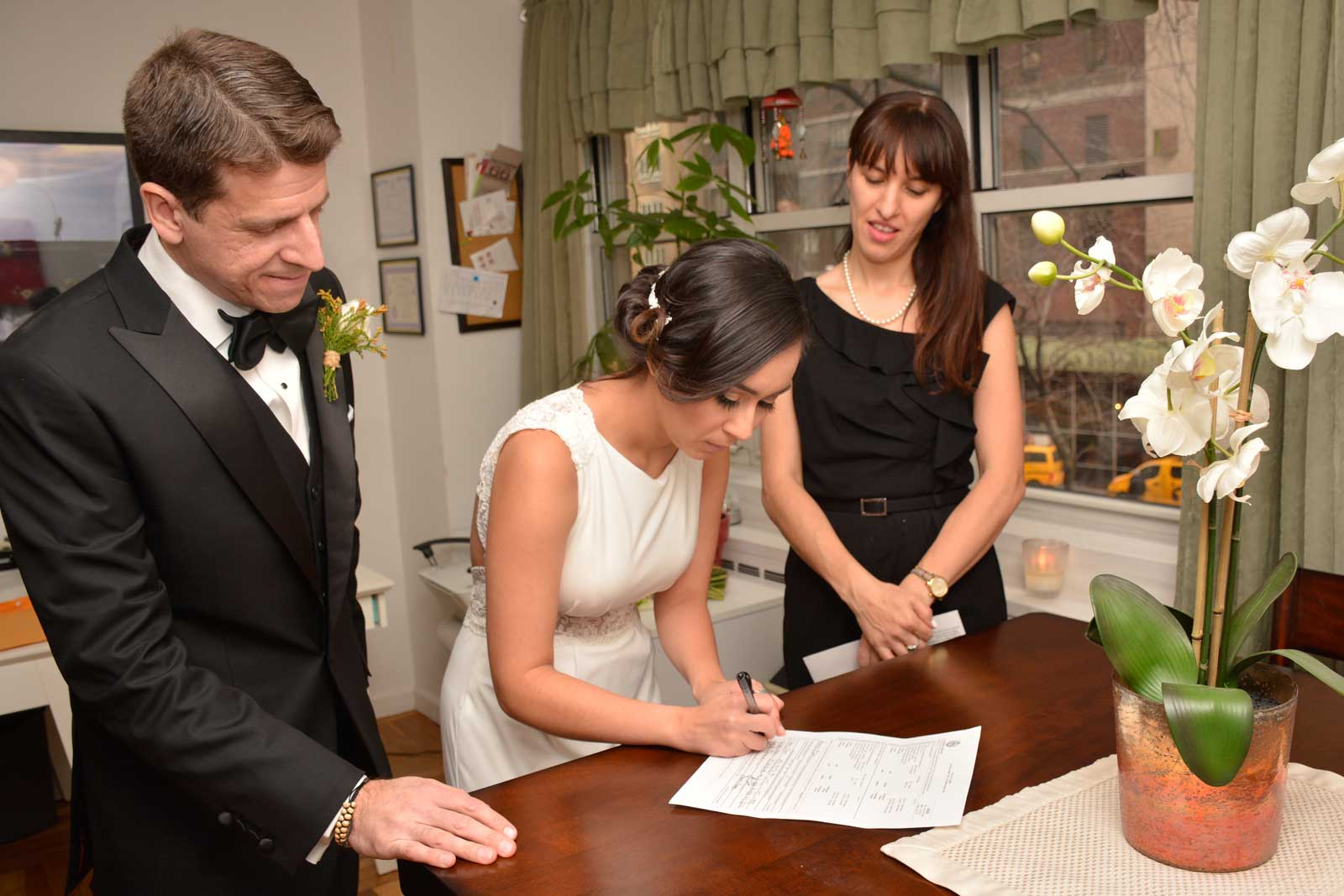 Legal wedding ceremony with Wedding Solution